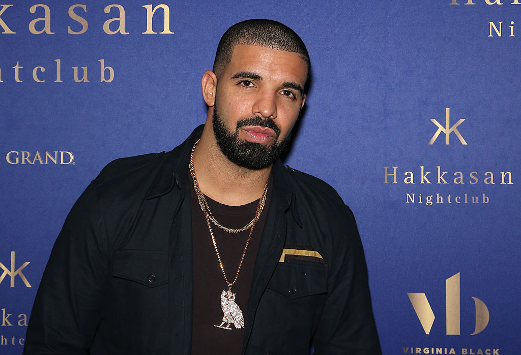 Drake at a party in September 2016