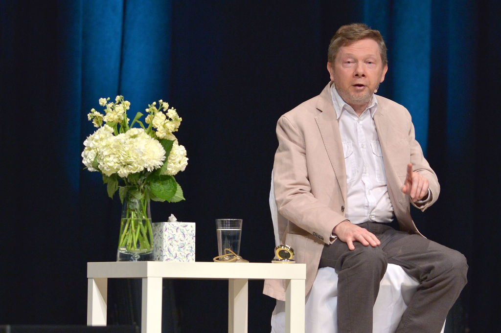 Eckhart Tolle   Johnny Louis/Getty Images