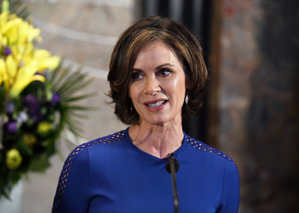 Elizabeth Vargas visits The Empire State Building