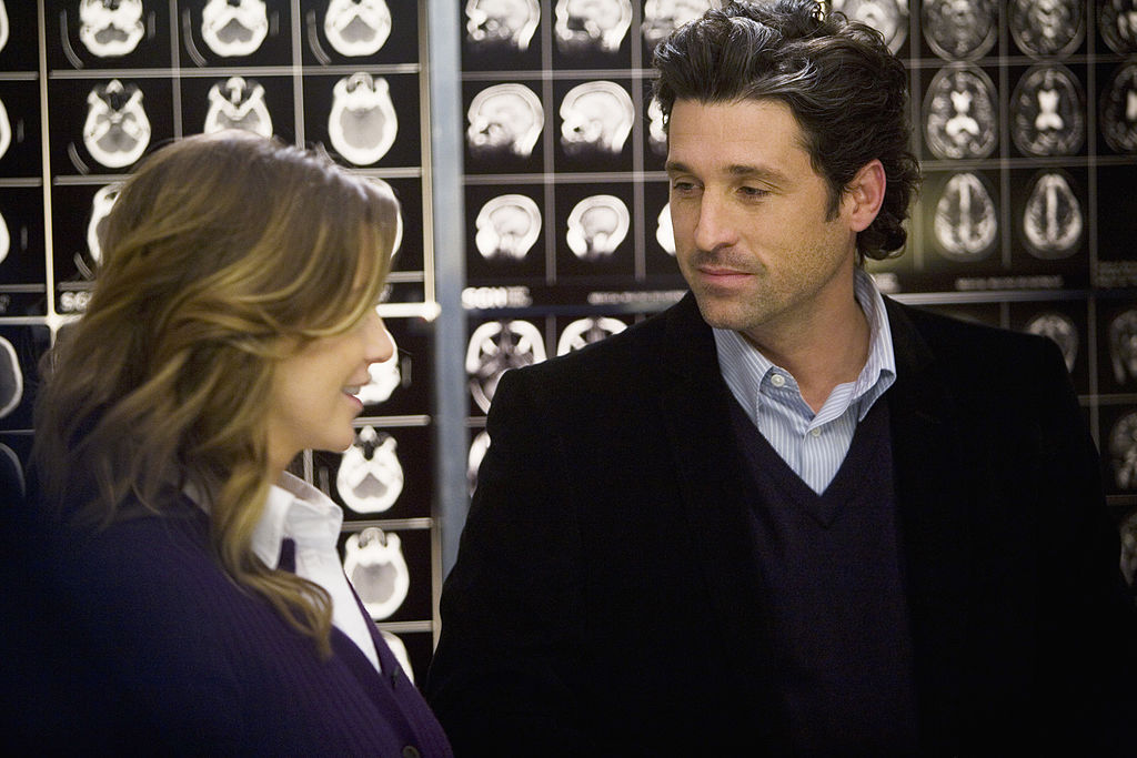 Ellen Pompeo and Patrick Dempsey |  Randy Holmes/Walt Disney Television via Getty Images