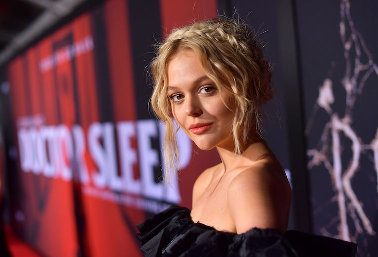 Emily Alyn Lind on the red carpet