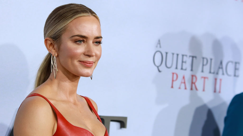 Emily Blunt at the premiere for A Quiet Place 2 | Jason Mendez/Getty Images