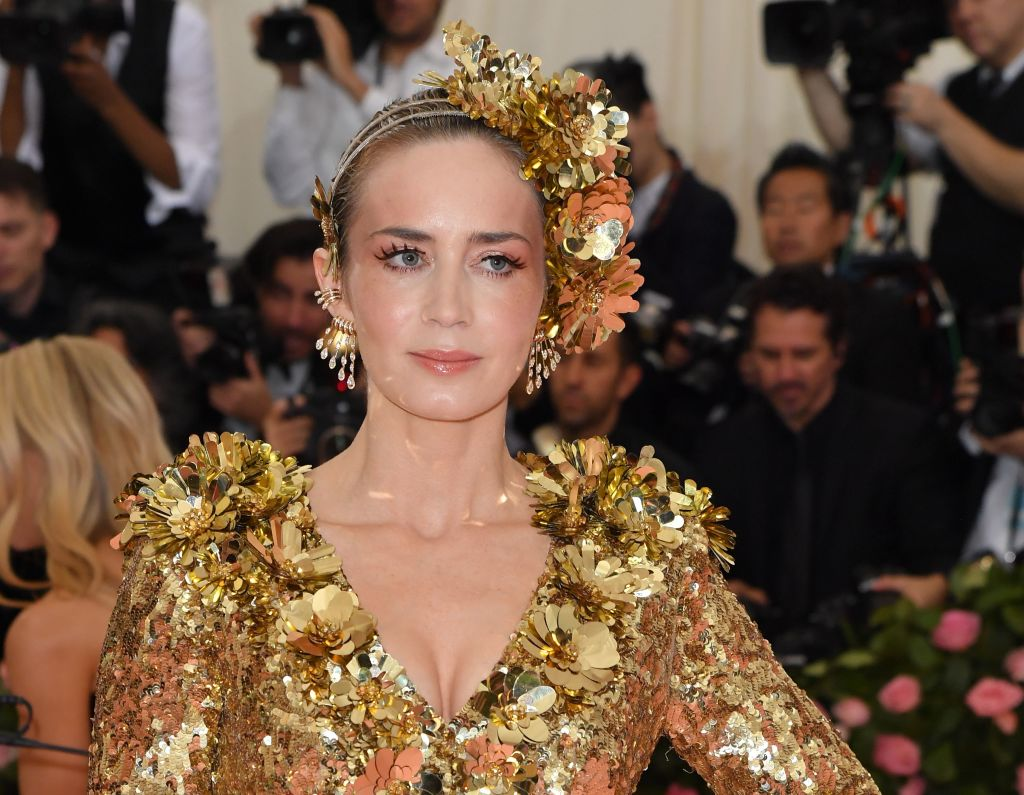Emily Blunt at the 2019 Met Gala |  ANGELA WEISS/AFP via Getty Images