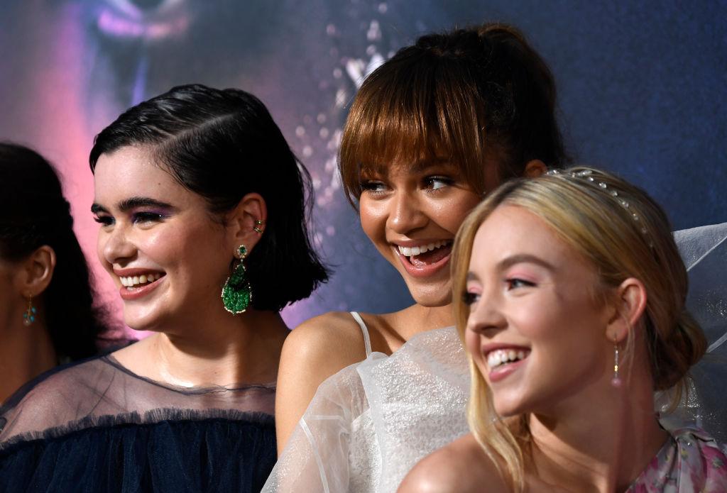 "Barbie Ferreira, Zendaya, Sydney Sweeney attend the LA Premiere Of HBO's ""Euphoria"""