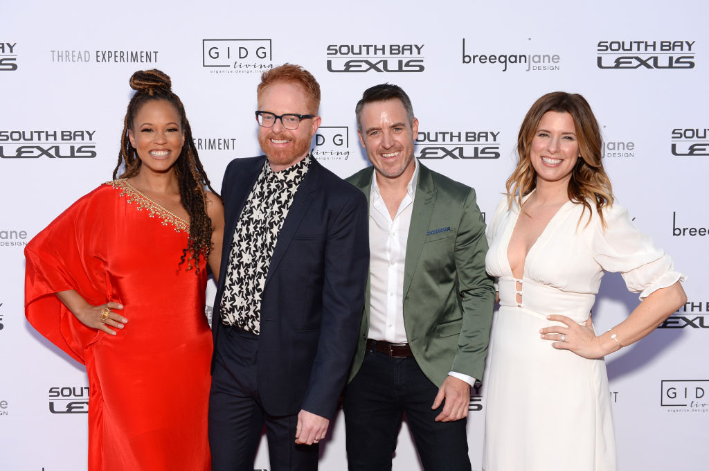 Breegan Jane, Jesse Tyler Ferguson, Darren Keefe and Carrie Locklyn | Andrew Toth/Getty Images for ZTPR