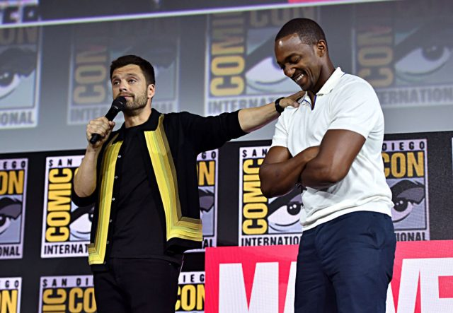 Falcon and the Winter Soldier stars Sebastian Stan Anthony Mackie