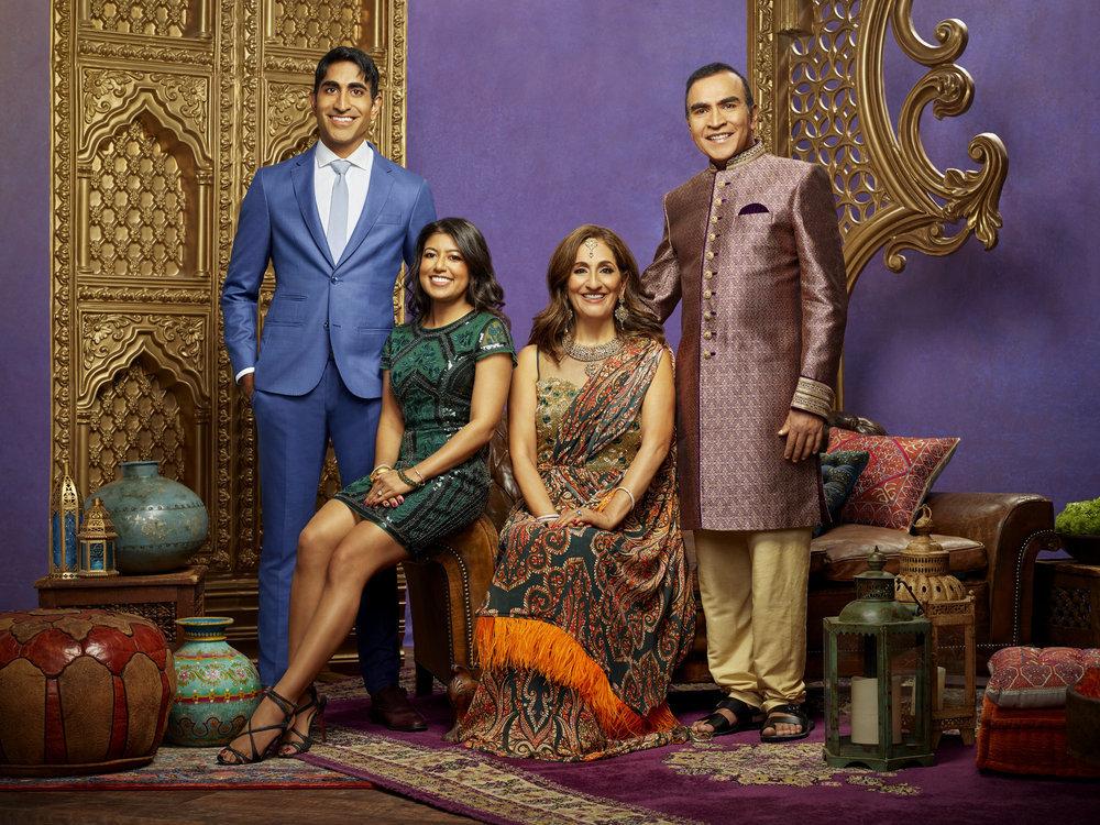 Vishal Parvani, Richa Sadana, Reshma Parvani, Kishor Parvani