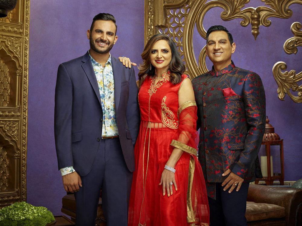 Shaan Patel, Kalpa Patel, Dipak Patel
