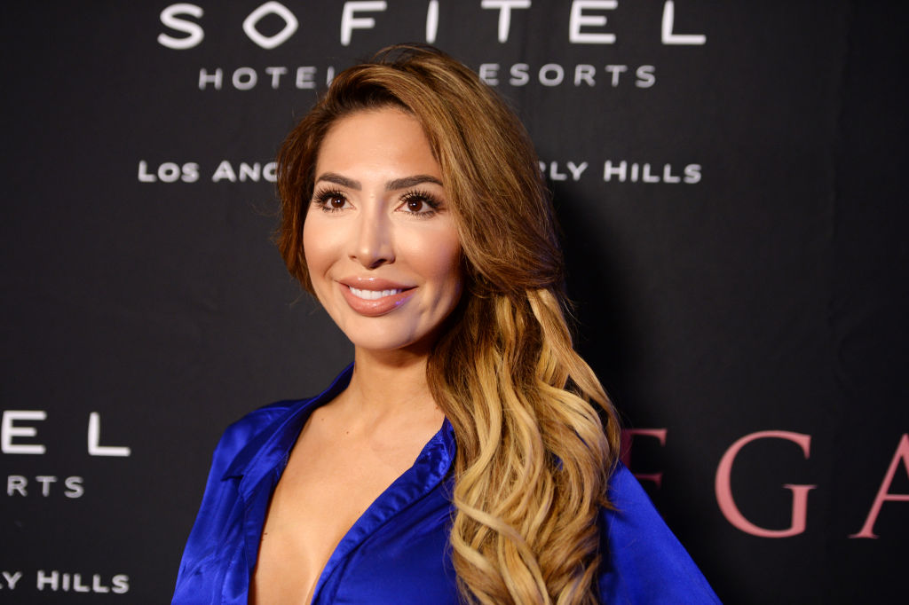 Farrah Abraham arrives at REGARD Magazine's 10 Year Anniversary Celebrating Women in Film and Television