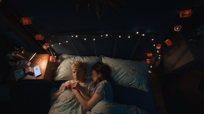 Mae Martin and Charlotte Ritchie in 'Feel Good'