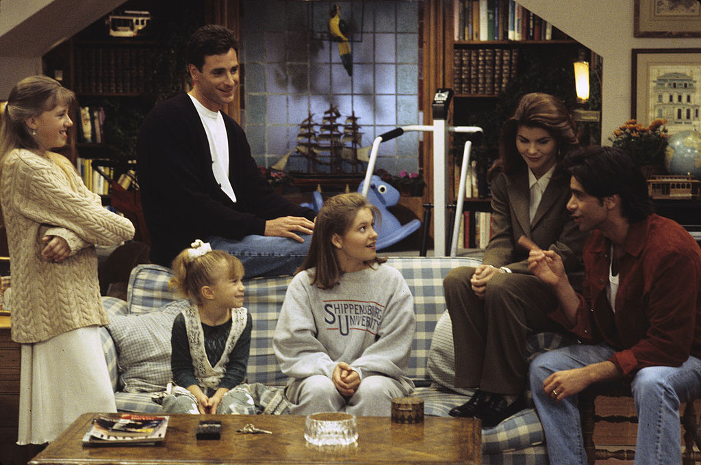 'Full House' characters DJ, Stephanie, and Michelle