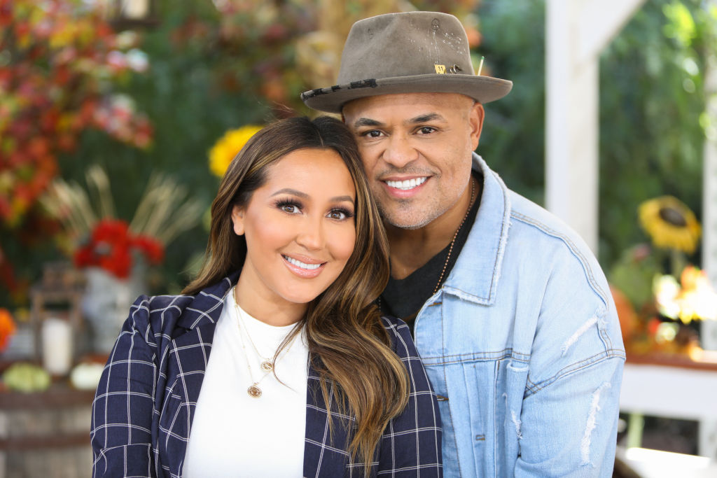 Adrienne Bailon and Israel Houghton