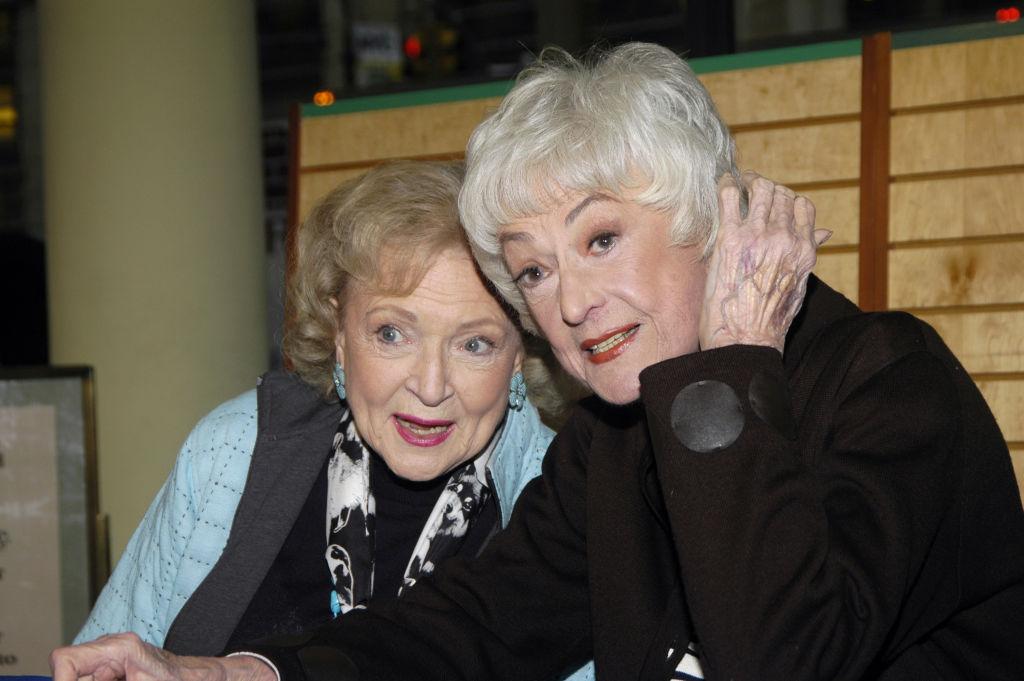 Betty White and Bea Arthur