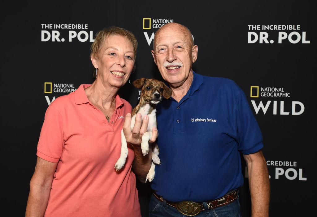 Dr. Jan Pol and his wife, Diane of 'The Incredible Dr. Pol'