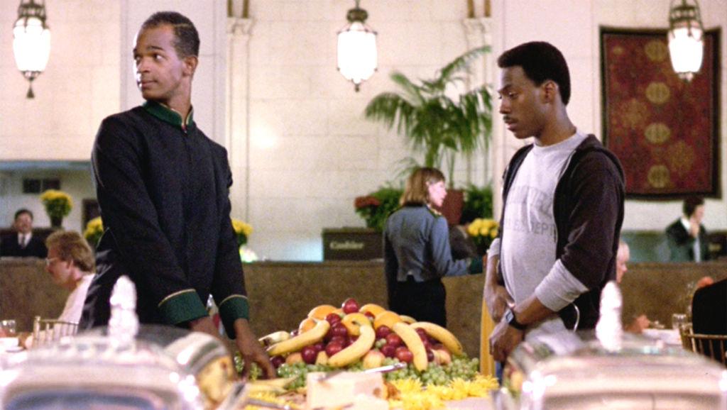 Damon Wayans and Eddie Murphy in 'Beverly Hills Cop'