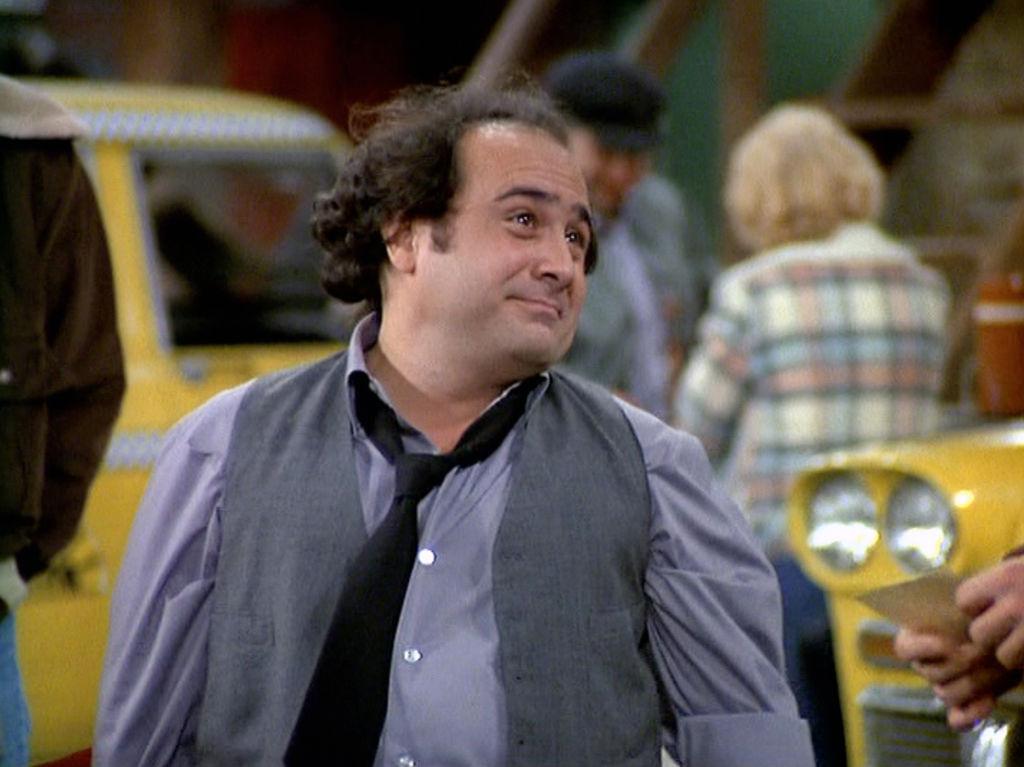 Danny DeVito as Louie De Palma in 'Taxi'