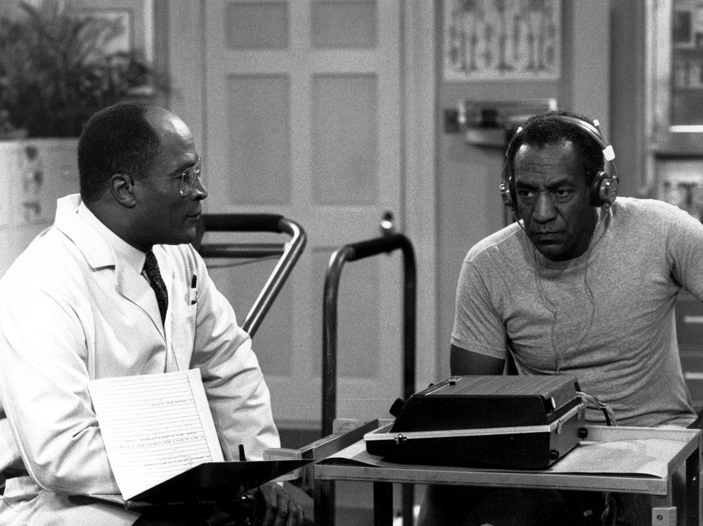 John Amos and Bill Cosby