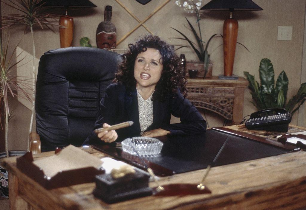 Julia Louis-Dreyfus as Elaine Benes in 'Seinfeld'