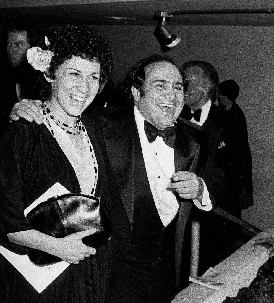 Rhea Perlman and Danny DeVito