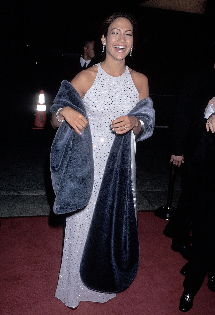 Jennifer Lopez at the 1997 Hollywood premiere of 'Selena'