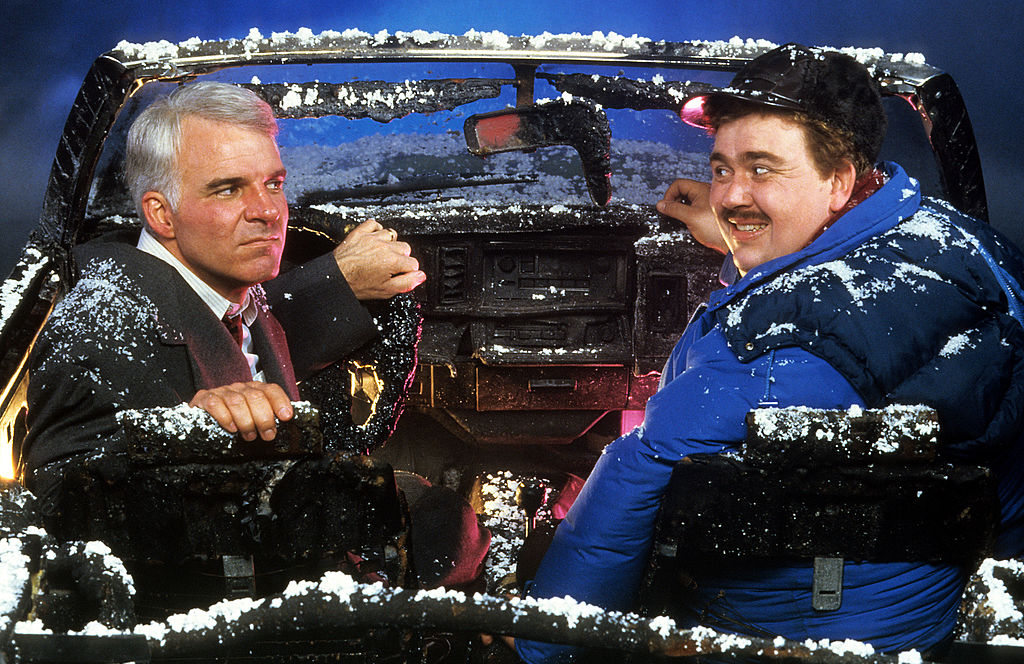 Steve Martin And John Candy In 'Planes, Trains and Automobiles'