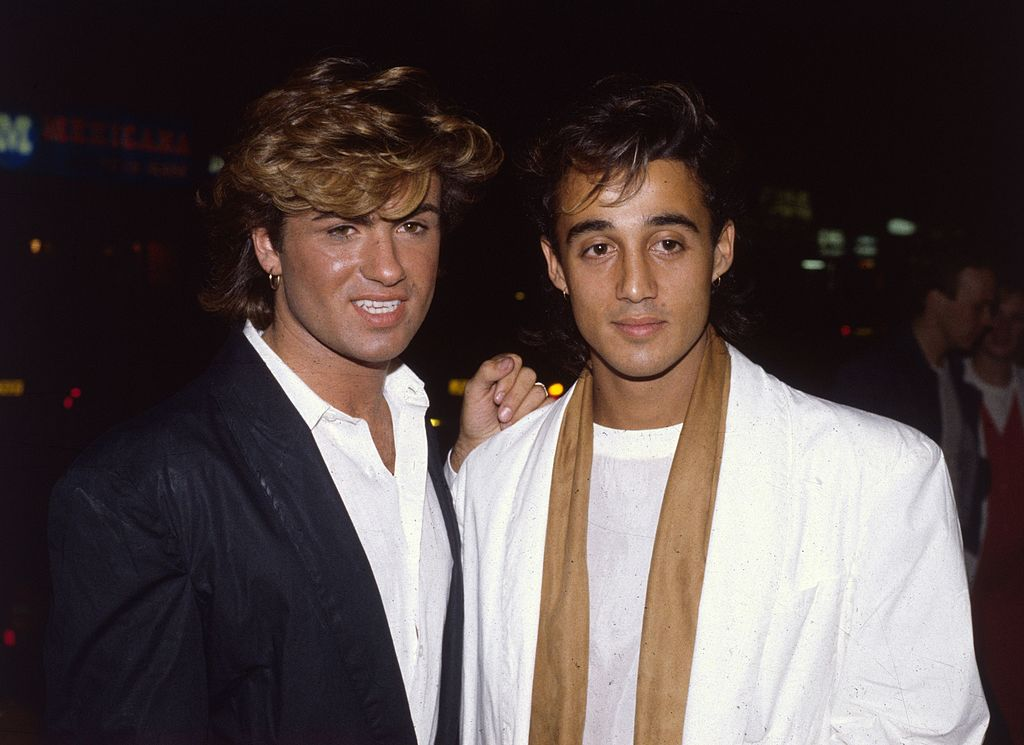 Wham! - George Michael and Andrew Ridgeley