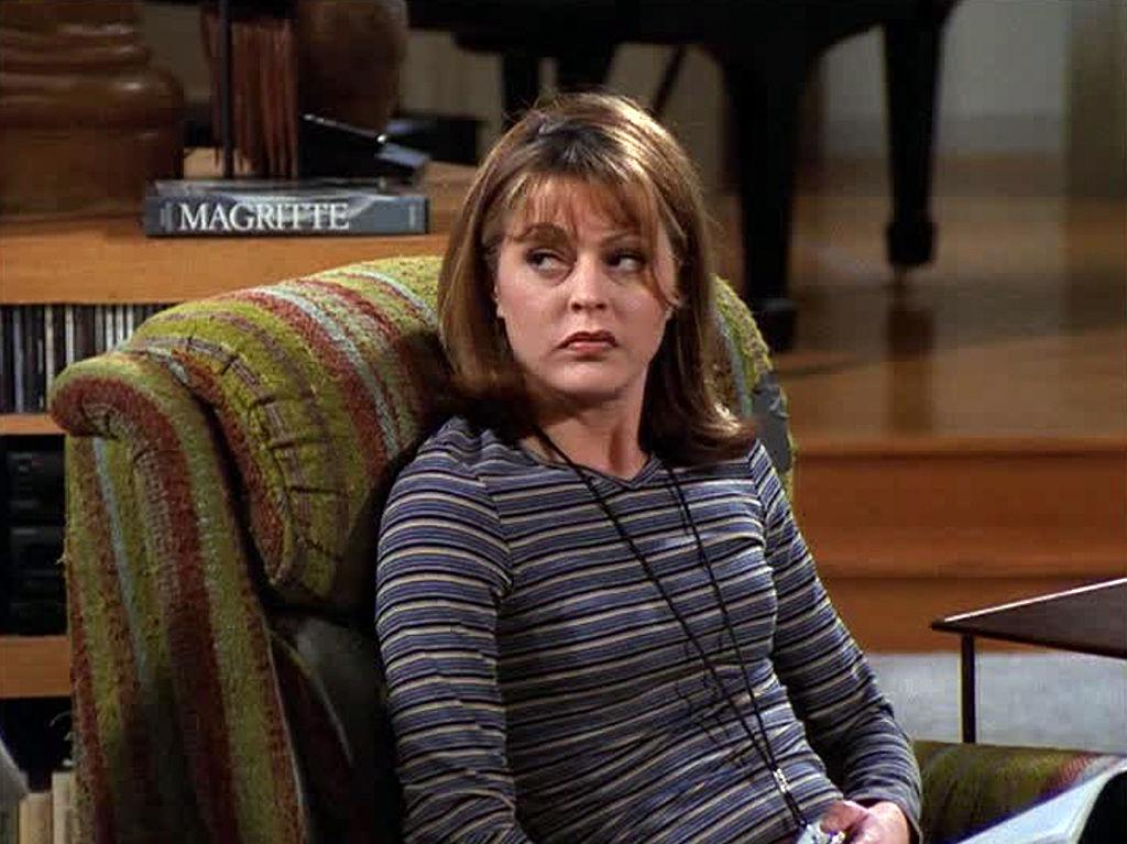 Jane Leeves as Daphne Moon in 'Frasier'