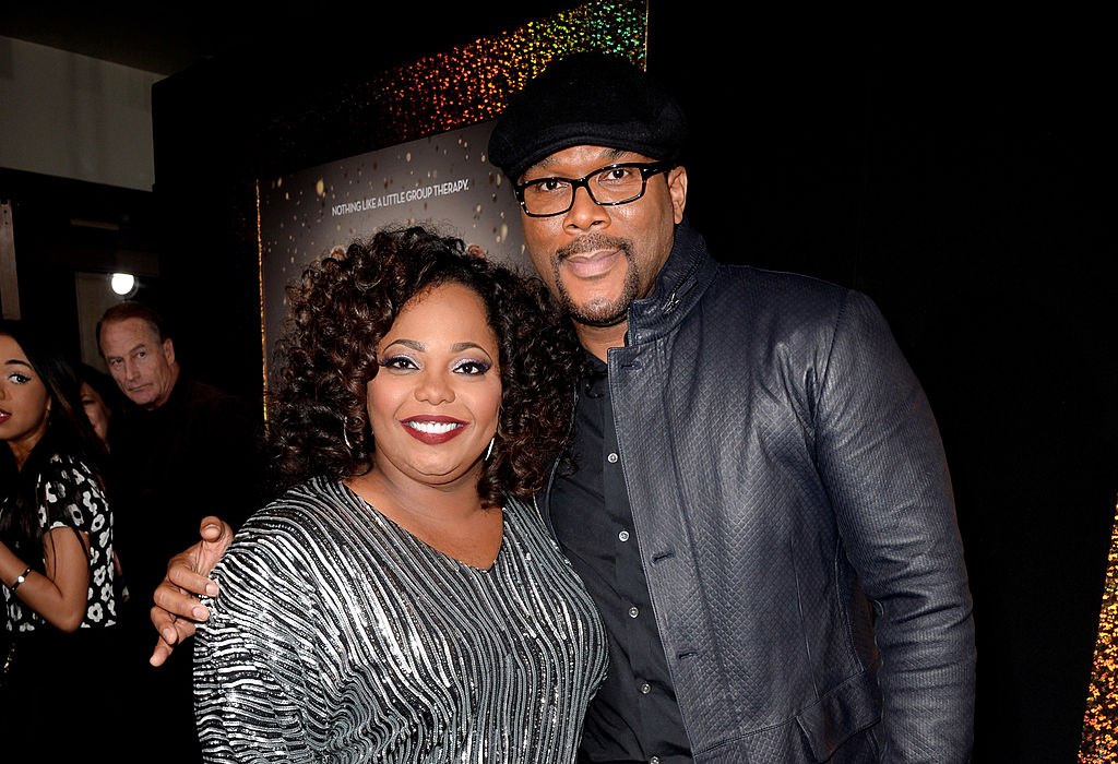 Cocoa Brown and Tyler Perry