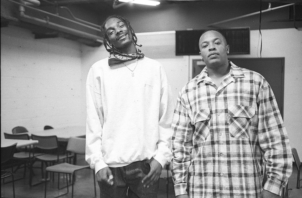 Snoop Dogg and Dr. Dre