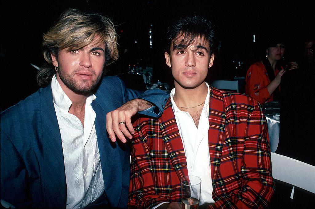 George Michael and Andrew Ridgeley