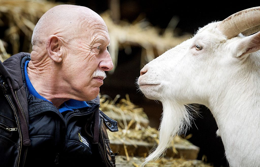 Dr. Jan Pol and friend of 'The Incredible Dr. Pol'