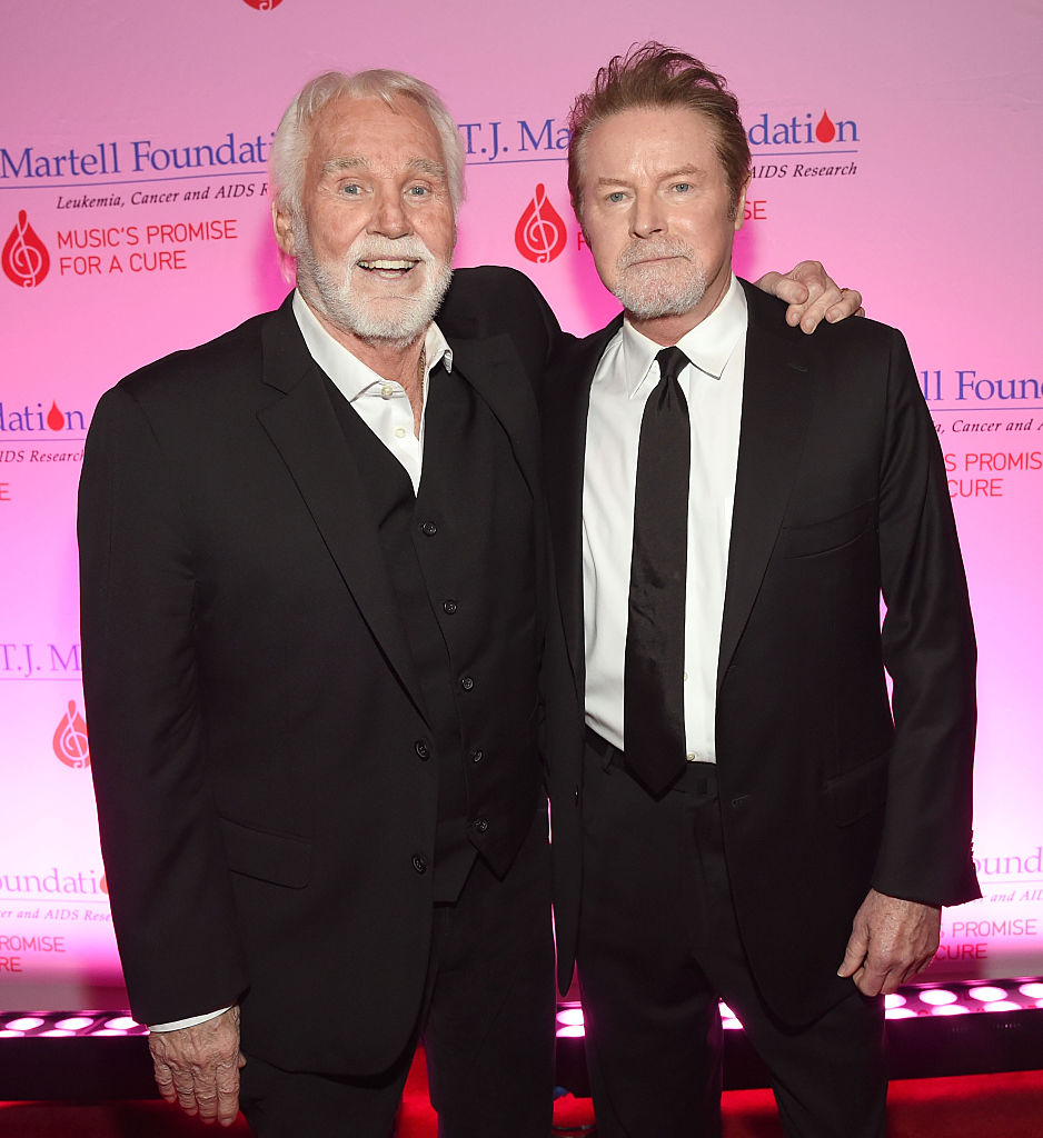 Don Henley and Kenny Rogers