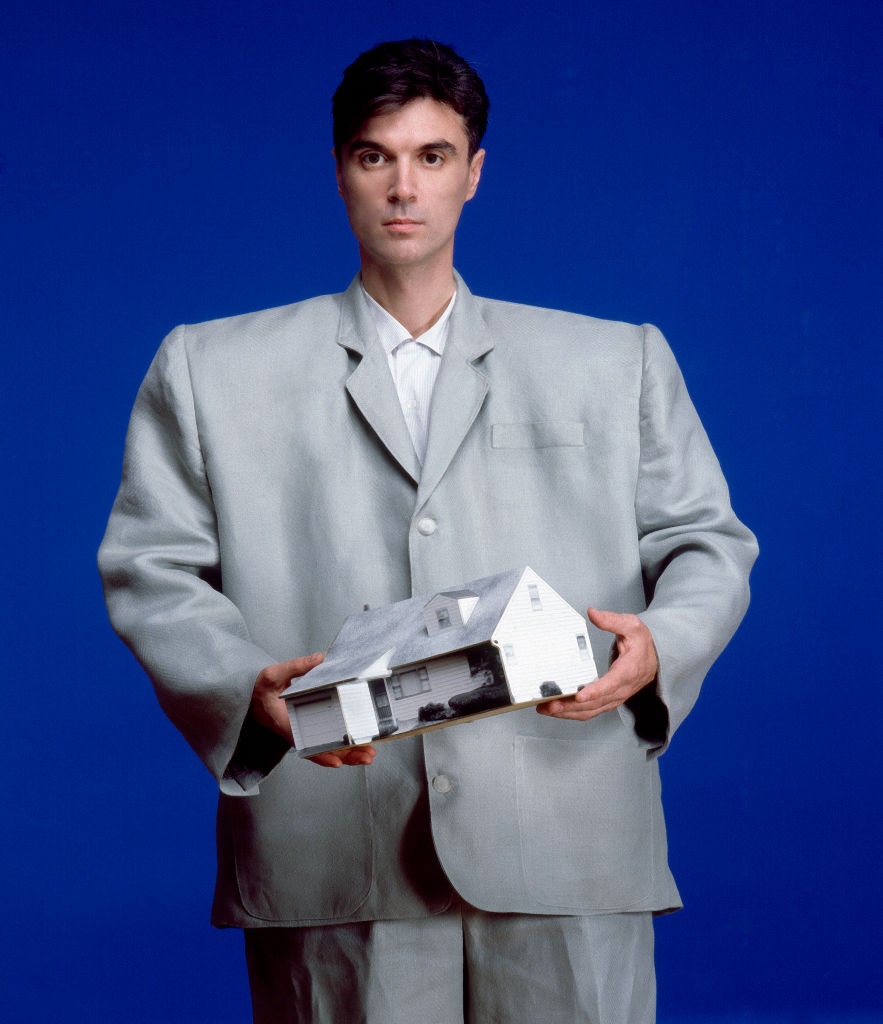 David Byrne of Talking Heads, 1983