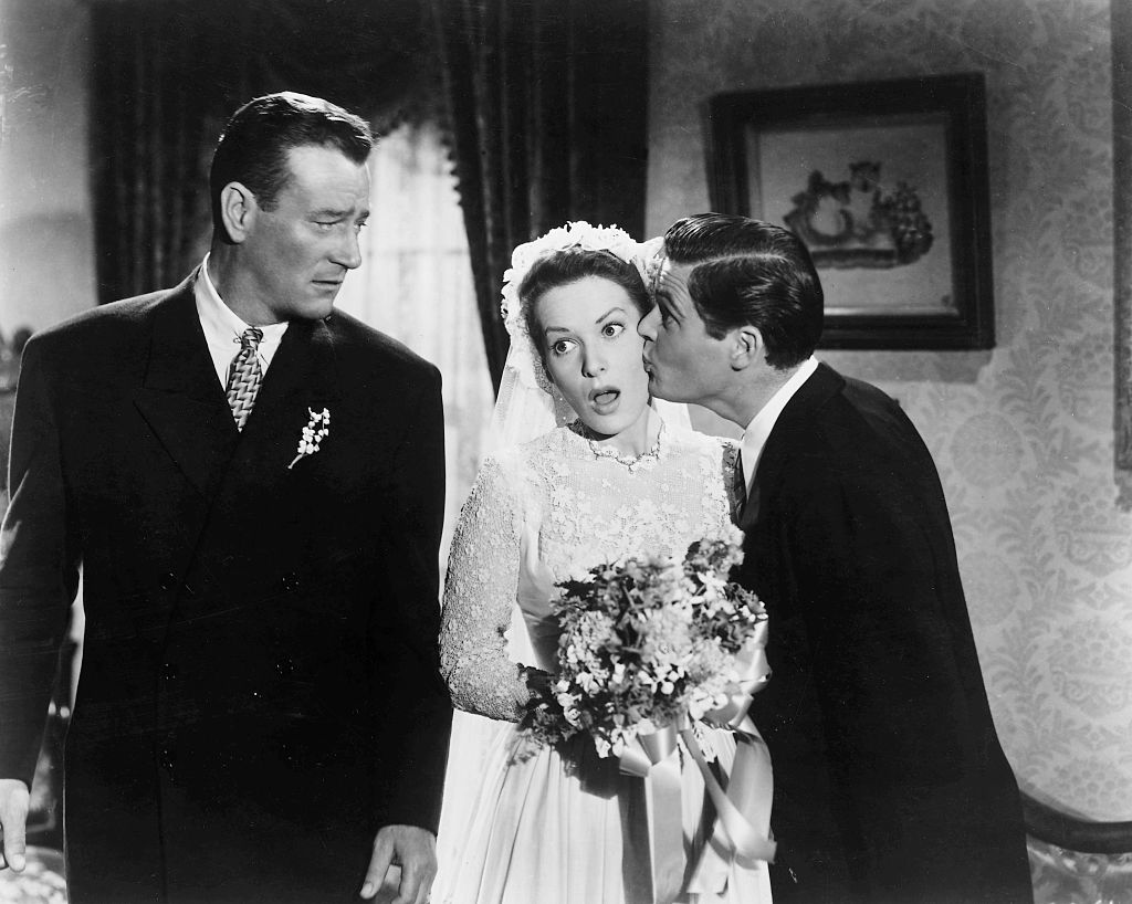 A scene from 'The Quiet Man'