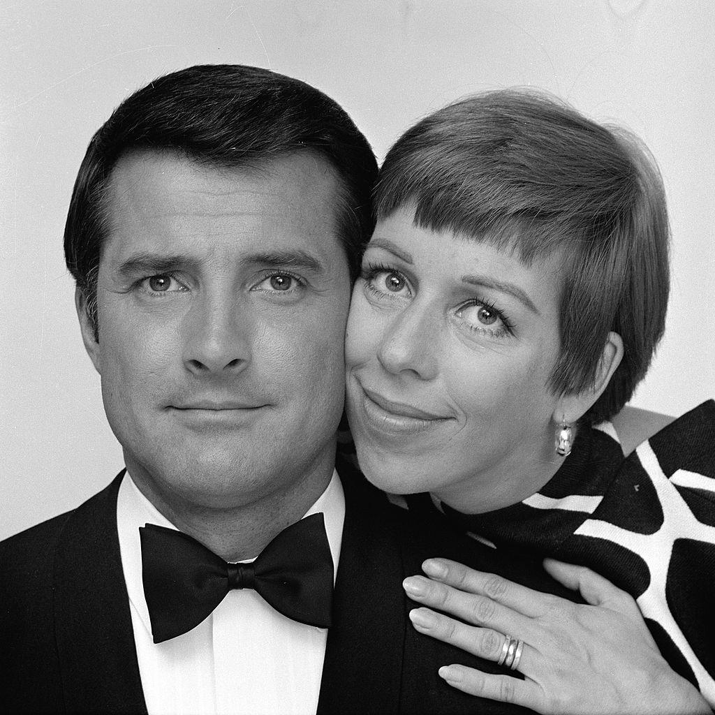 Lyle Waggoner and Carol Burnett
