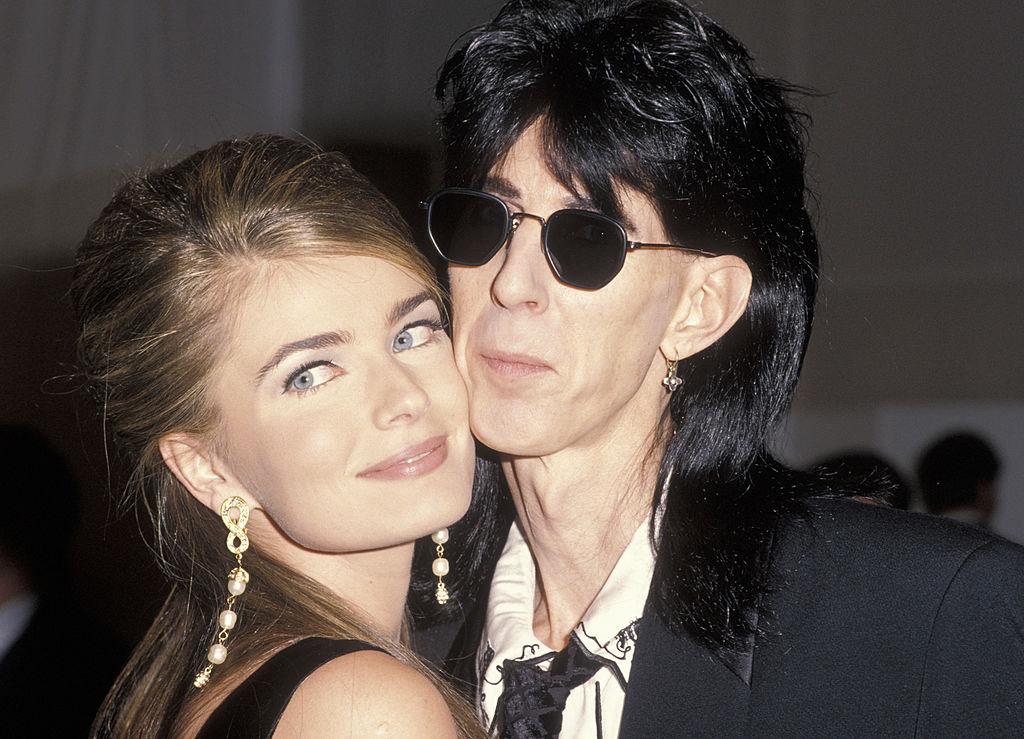 Ric Ocasek and Paulina Porizkova in 1990