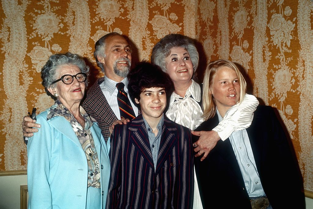 Bea Arthur and family, 1977