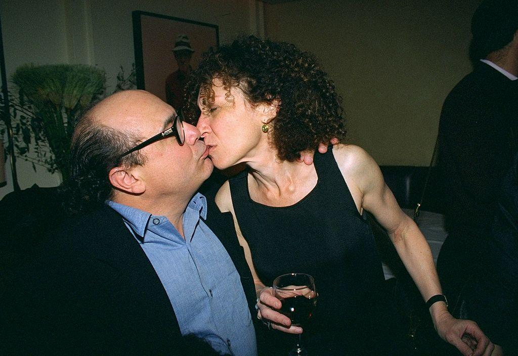 Danny DeVito and wife, Rhea Perlman