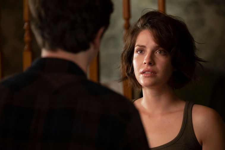 Lea stares at Dr. Shaun Murphy in an episode of 'The Good Doctor'