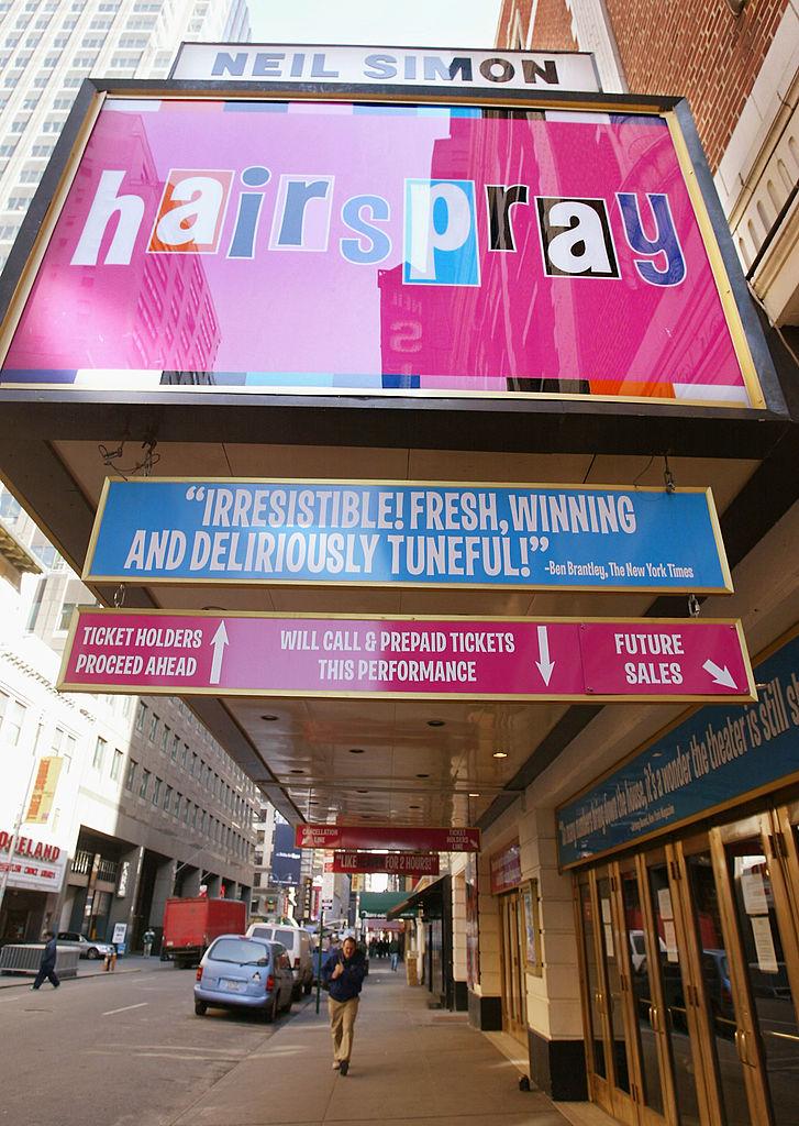 Hairspray Broadway musical