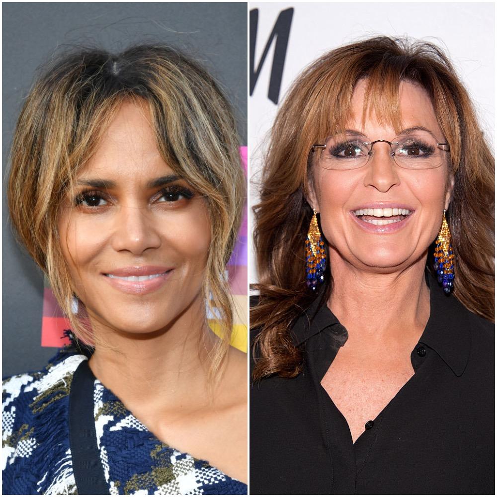 Halle Berry and Sarah Palin