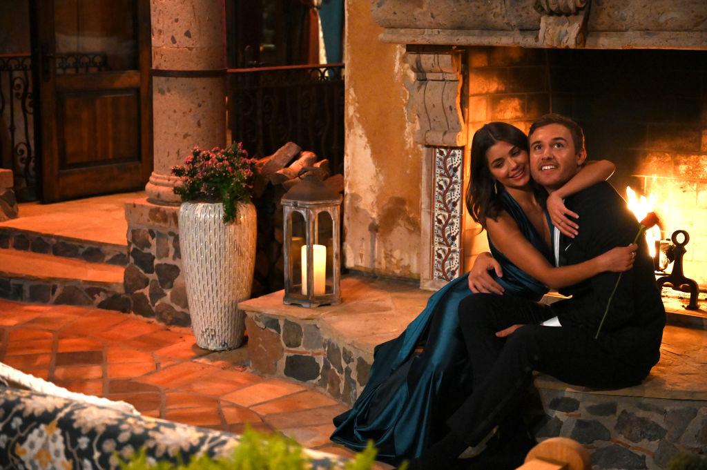 Hannah Ann Sluss and Peter Weber on 'The Bachelor' - Season 24