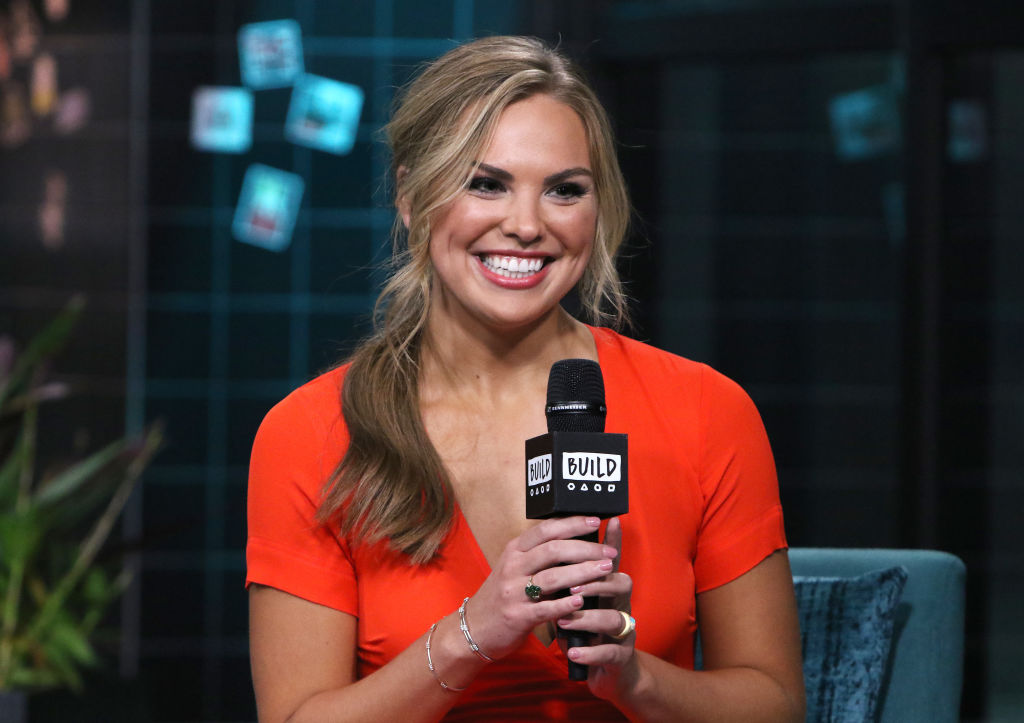 """Hannah Brown attends the Build Series to discuss """"The Bachelorette"""""""