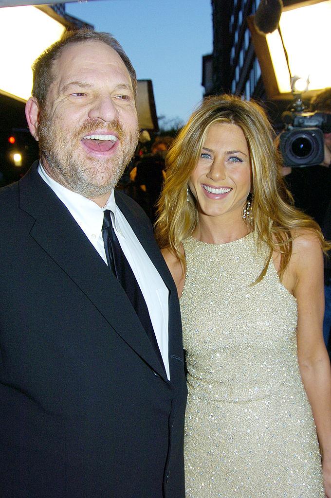Harvey Weinstein and Jennifer Aniston