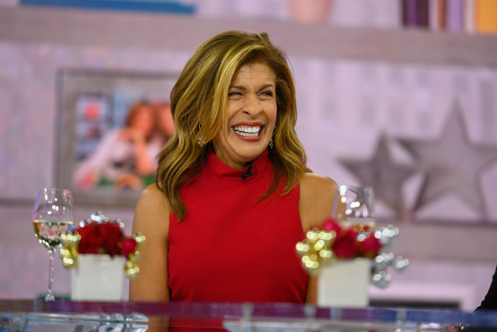 "Hoda Kotb of the ""Today Show"""