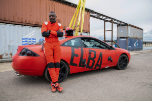 Idris Elba Takes on Race Car Driver in New Unscripted Quibi Series