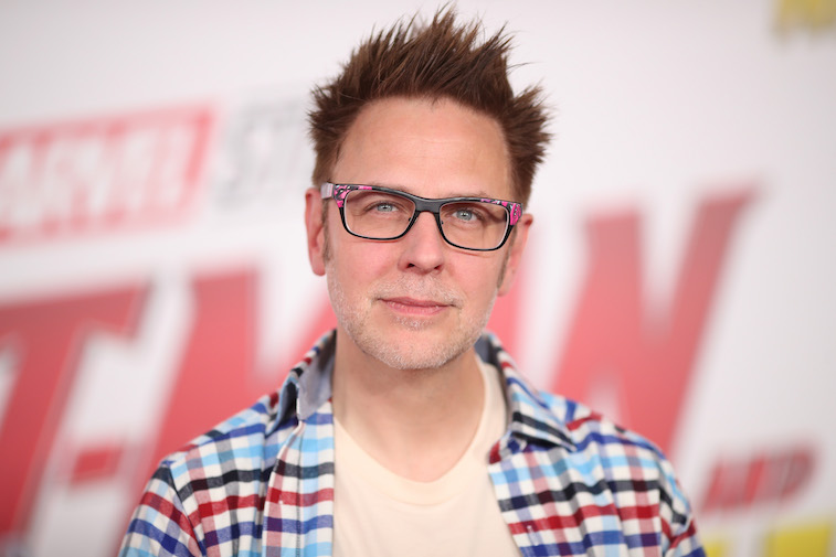 James Gunn on the red carpet