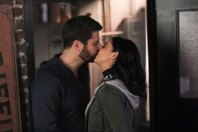 James Roday as Gary and Floriana Lima as Darcy on 'A Million Little Things'