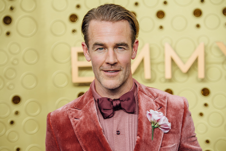 James Van der Beek on the red carpet
