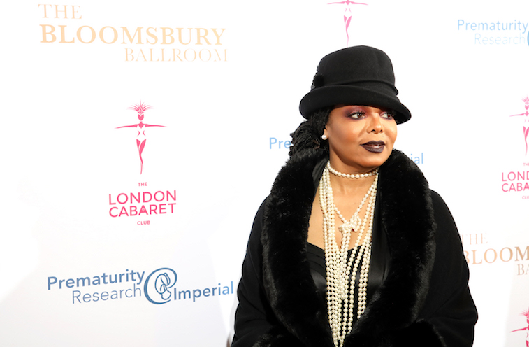 Janet Jackson on the red carpet